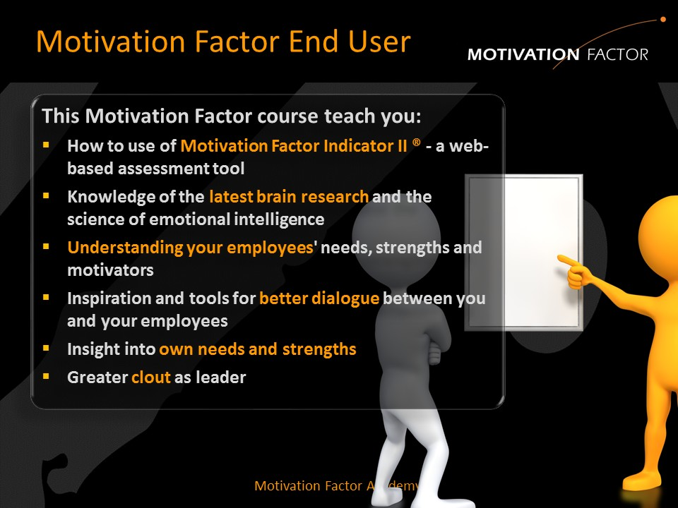 leadership as motivators 2 leadership, motivation & team building leadership skills the theory works on the basis that needs are only motivators when they are unsatisfied.