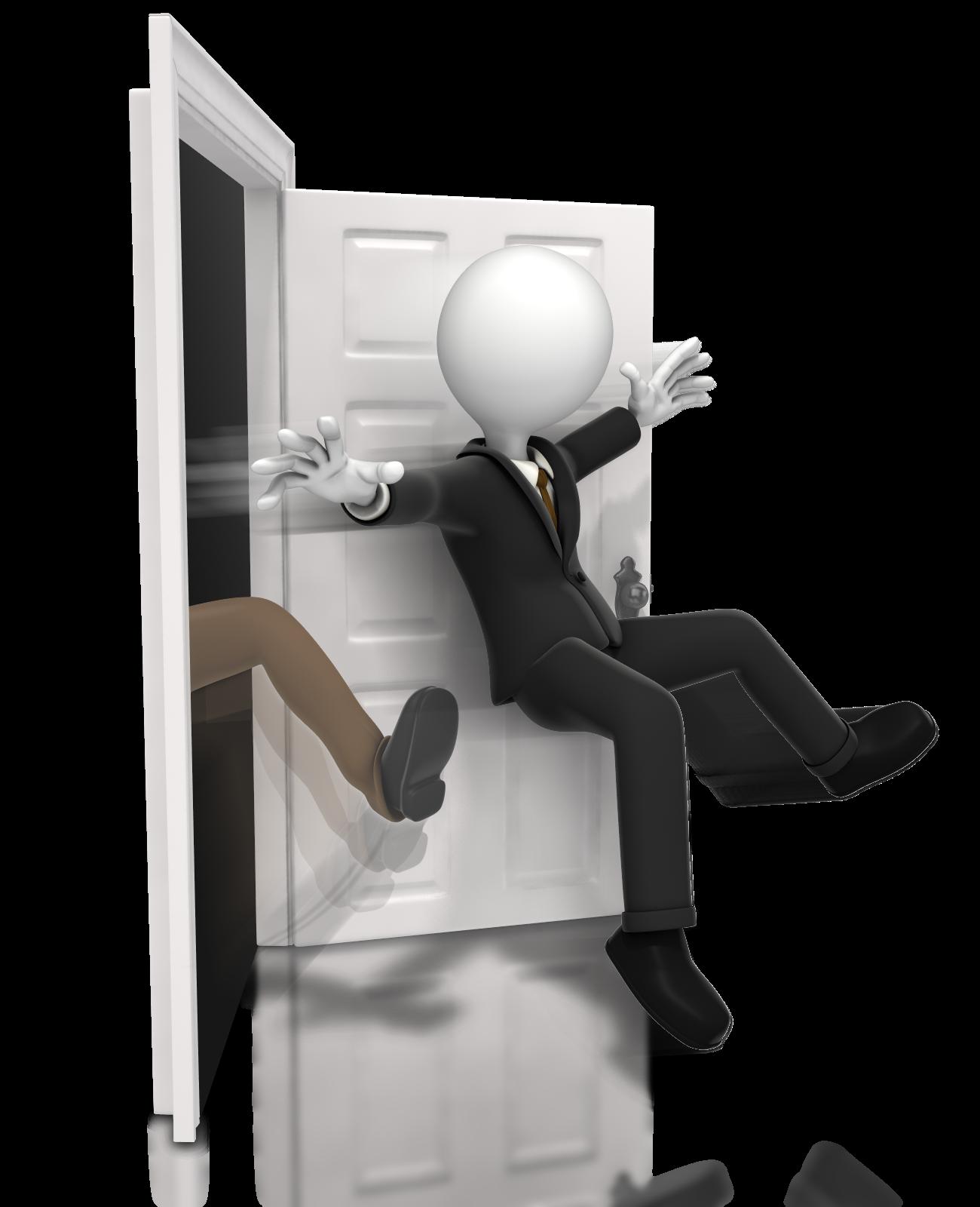 portal how to get through closed doors